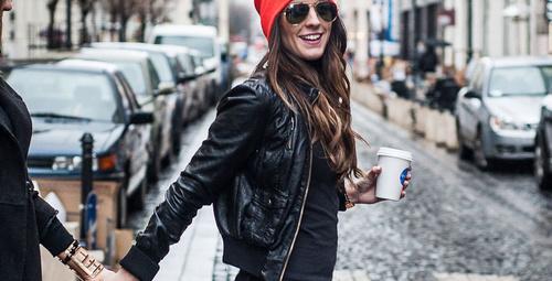 Sokak modasında bereli kombinler!