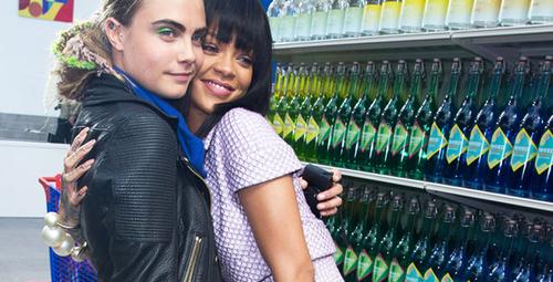 Cara ve Rihanna birlikte bilim kurgu filminde!