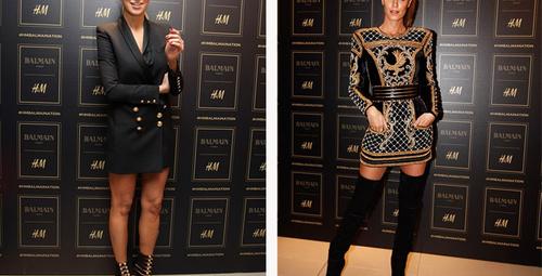 Ünlü stili: Balmain x H&M özel alışveriş partisi!