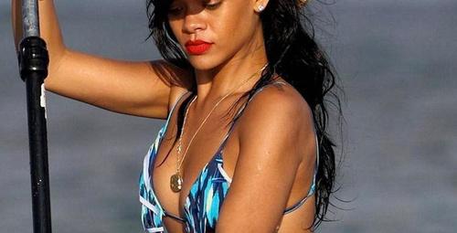 Rihanna'nın yeni dövmesi!