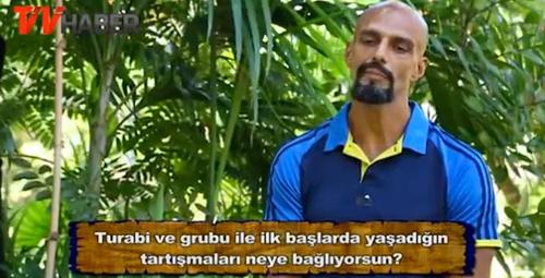 Survivor'dan elenen Hasan, Turabi için neler dedi?