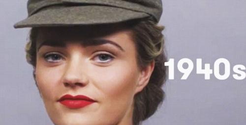 Alman kadınının 100 yıllık değişimi!