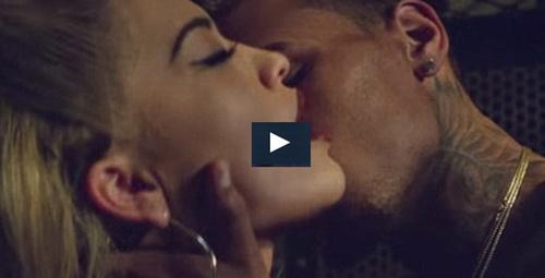 Rita Ora ve Chris Brown'dan seksi video klip!