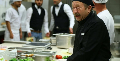 Erkan Can usta şeflere taş çıkardı!