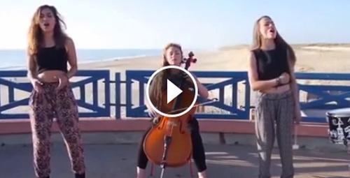 Bu kızların sesi bir harika!