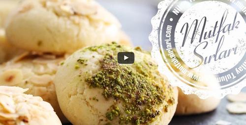 Fındıklı fıstıklı pratik kurabiye tarifi