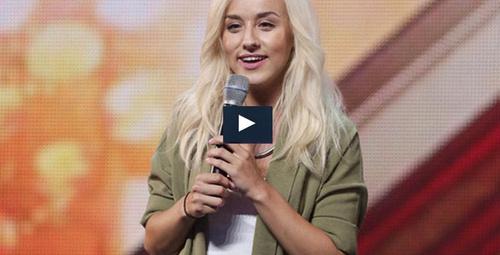 X Factor İngiltere'de jüri Türk kızına hayran oldu!