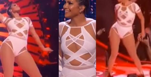 Jennifer Lopez dekoltede sınır tanımıyor!