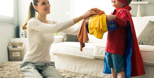 Çocuklu ev temizliğinin püf noktaları