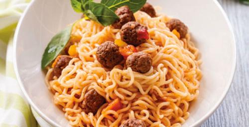 Sebzeli noodle tarifleri ve noodle sütlaç