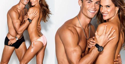 Ünlü model Ambrosio ile Ronaldo'nun seksi pozları!