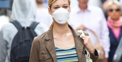 'Grip insanlar sokağa çıkarken maske takmalı'