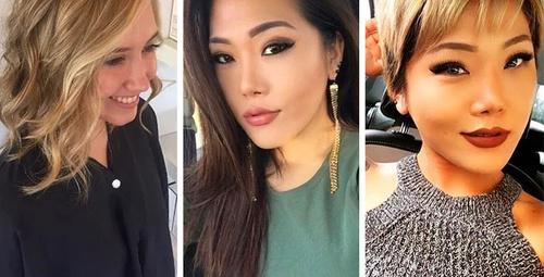 Saç kesimiyle görünümünde fark yaratan 17 kadın!