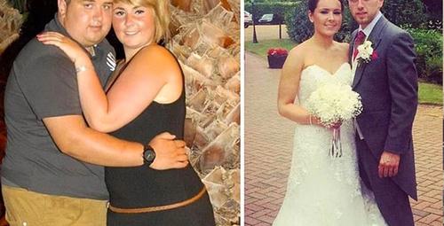 Aşk için resmen eridiler! Zayıflayan çiftlerin değişimi inanılmaz