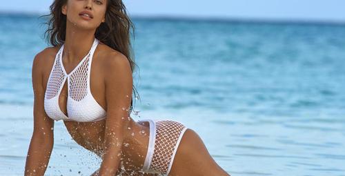 Süper model Irina Shayk'tan cesur pozlar!