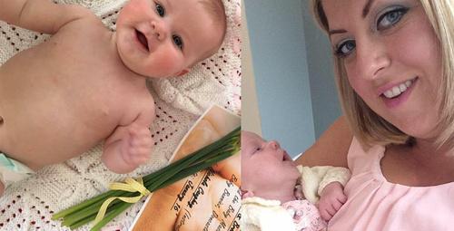 Bir aylık bebek bir öpücük yüzünden ölüyordu!