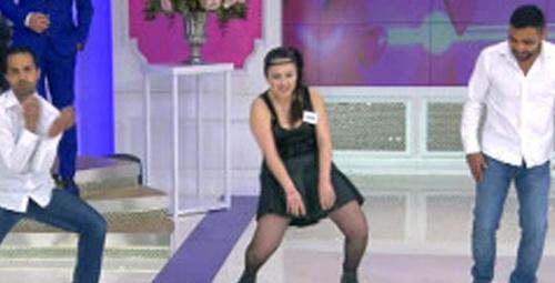 İzdivaç'ta gelin adayından beyin yakan dans!