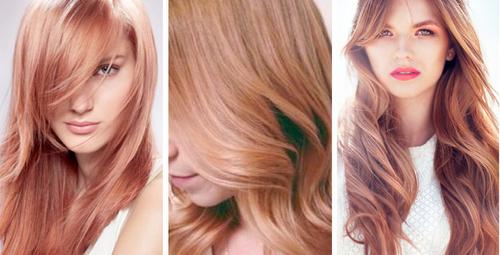 Rose gold saç rengiyle büyülü ışıltılar!