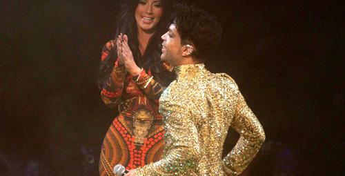 Kim Kardashian, Prince'in sahnesinden kovulmuş!