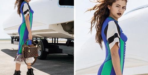 Selena Gomez Louis Vuitton'un yeni yüzü!