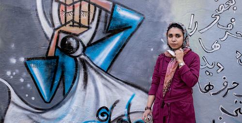Afganistan'ın ilk kadın sokak sanatçısı: Shamsia Hassani