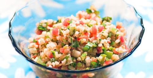 Diyete uygun buğday salatası nasıl yapılır?