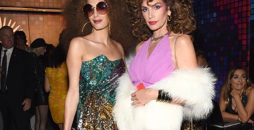 Amal Clooney ve Cindy Crawford kostümleri olay