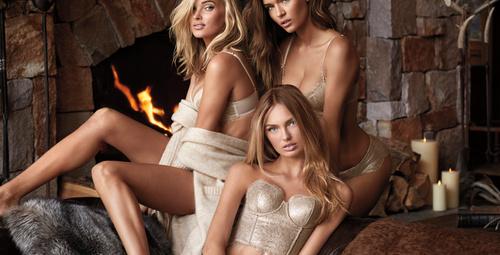 Victoria's Secret yılbaşı özel koleksiyonu nefes kesti