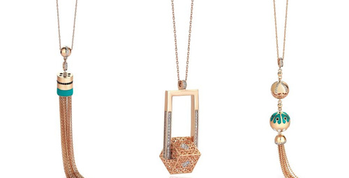 Altınbaş'tan şık ve minimalist kolye tasarımları
