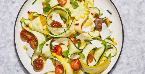 Kabak salatasını hiç böyle denediniz mi?