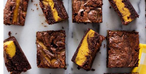 Balkabaklı brownie lezzet şöleni...