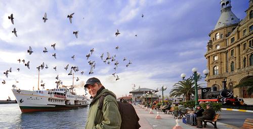 Foto muhabirinden 'vapuru, tramvayı, martısı, Kızkulesi'yle İstanbul sergisi!