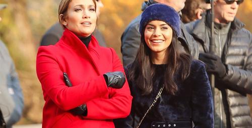 Jennifer Lopez'in kırmızı-ekose kombinine bayıldık