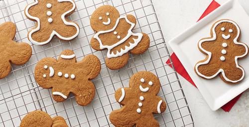 Yeni yıl sofralarının vazgeçilmezi zencefilli kurabiye!