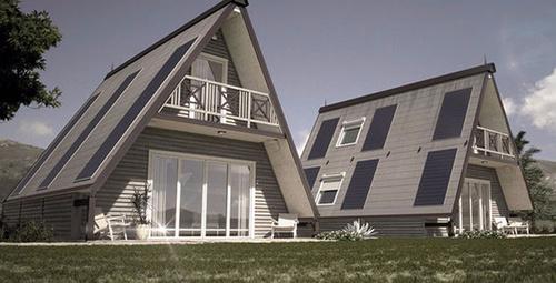 Sadece 6 saatte kurulabilen bu eve aşık olacaksınız!