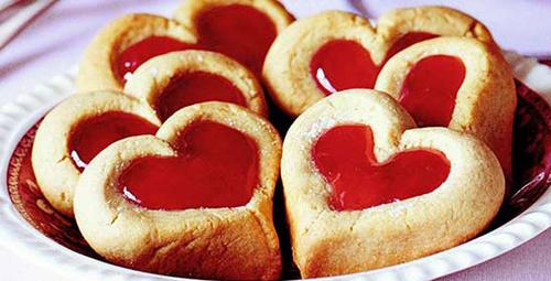 Tarif bahane lezzet şahane! Marmelatlı şekilli kurabiye...