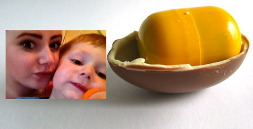 Sürpriz yumurtadan çıkan şoke etti 2 yaşındaki çocuk...