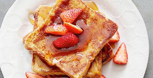 Pazar kahvaltıları için lezzetli alternatif; Fransız tostu!
