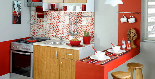 Küçük mutfaklarınızı büyük göstermenin yolları