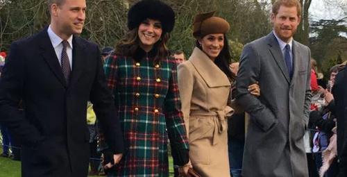 Meghan ve Kate'in Noel kıyafetlerini mercek altına aldık!