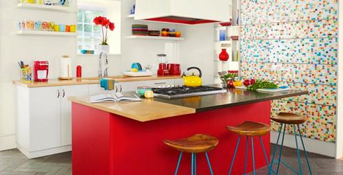 Kırmızı mutfak dekoru nasıl yapılmalıdır?