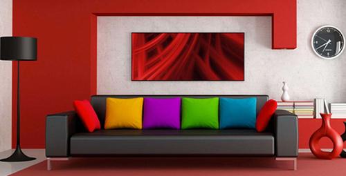 Evinizdeki renkler karakterinizi yansıtıyor!