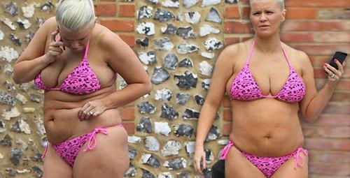 Zayıflama iğnesiyle kilo veren ünlü şarkıcı 34 bedene dayandı!