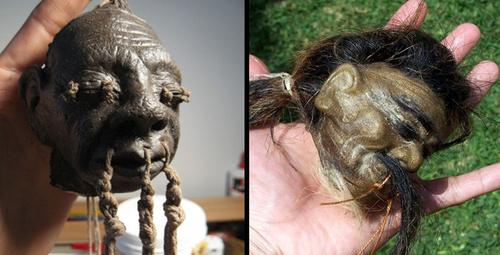Korkunç gelenek insan kafalarını küçültüp 50 bin dolara satıyorlar!