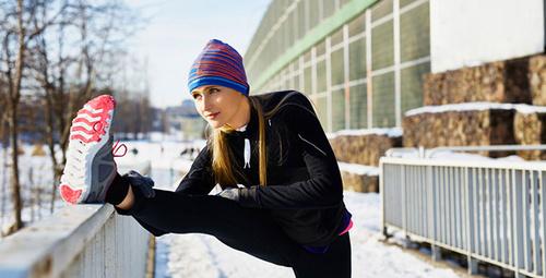 Hava soğuk deyip sporu es geçmeyin!