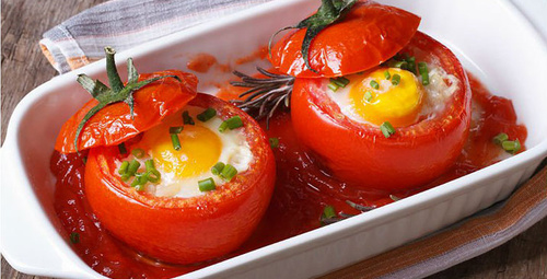 Yumurtalı domates dolması nasıl yapılır?