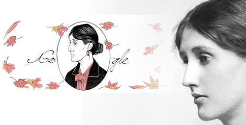 Google'un Doodle yaptığı Virginia Woolf'la tanışın!