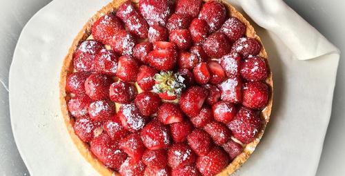 Meyveli tart ile damak zevkinizi şımartın!