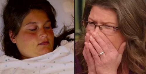 136 kiloluk kızının son halini gören anne gözyaşlarına boğuldu