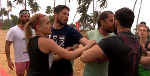 Survivor 2018'in ilk kavgası yaşandı!